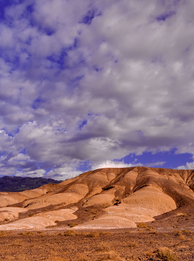 Landscape photo of Death Valley National Park and beautiful cloudy skies by Michael Leggero.