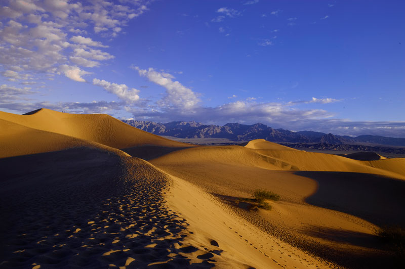 Landscape photo of Stovepipe Wells Sand Dunes at Death Valley National Park by Michael Leggero.