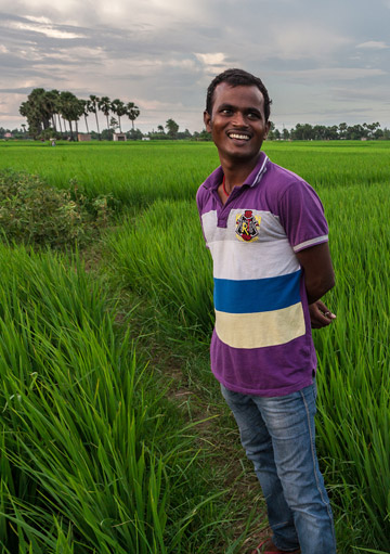 Photo of Indian man in Bodhgaya, India by Nico DeBarmore