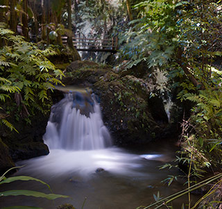 Landscape Photography Mistake and Solution: Waterfall with distracting corner triangle by Michael Leggero.