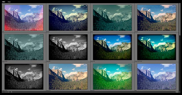 Perfect Photo Suite 8 Software: screen shot of Filters.