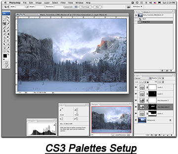 Photoshop CS3 Panel Setup