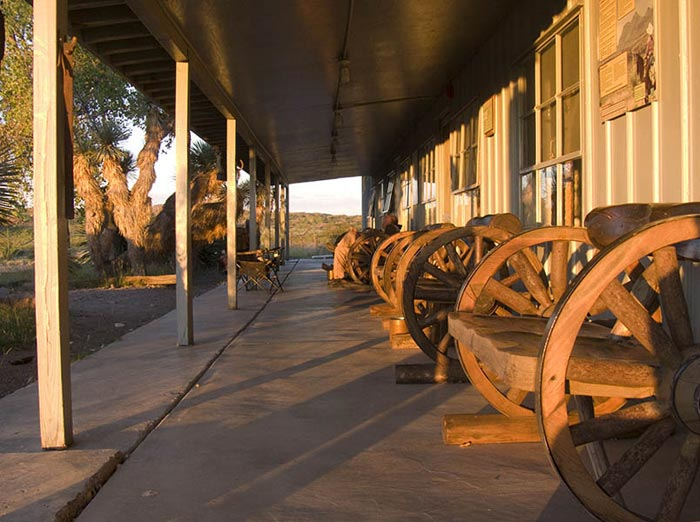 Photo of Bunkhouse at Big Bend Ranch State Park, Texas by Gary Nored