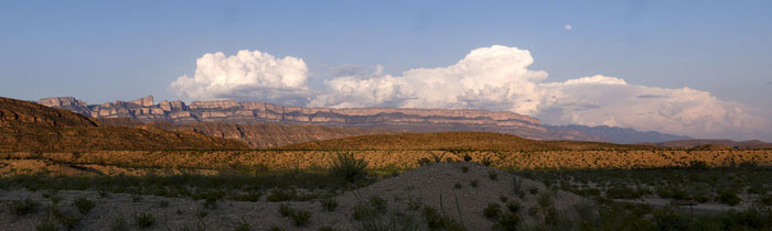 Photo of Sierra del Carmen, Big Bend National Park, Texas by Gary Nored