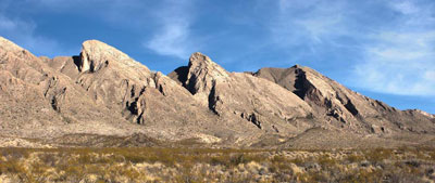 Photo of Flatirons of the Solitario at Big Bend Ranch State Park, Texas by Gary Nored