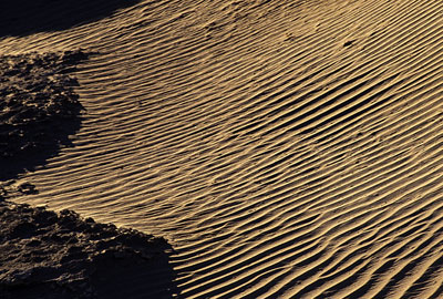 Photo of sand dunes near Death Valley's Furnace Creek in Death Valley , Utah by Noella Ballenger