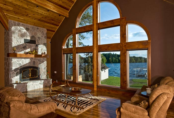 Interior home photography - photo of window view from living space by Randy Romano
