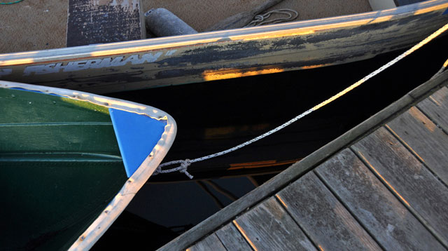Boat and dock photo by Marty Layne