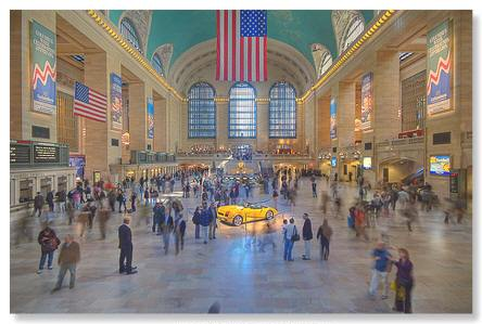 HDR photo of Grand Central Station by Andy Cross.