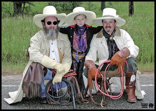 Photo of Three Rodeo Generations