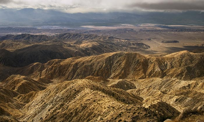 Photo from Keys View Overlook in Joshua Tree National Park by Robert Hitchman