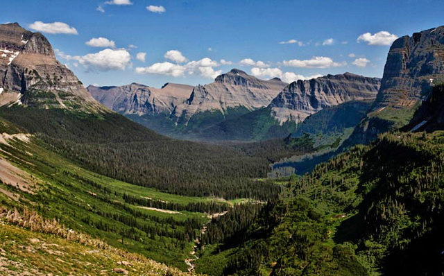 Photo from Road to the Sun in Glacier National Park by Noella Ballenger