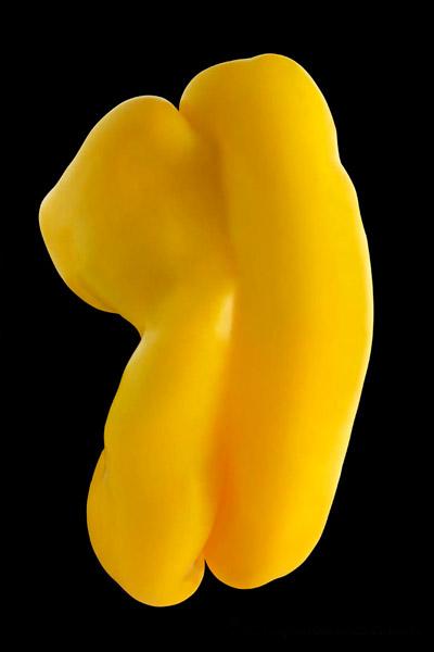 "Photo of pepper titled ""Pepperman"" by Piero Leonardi"
