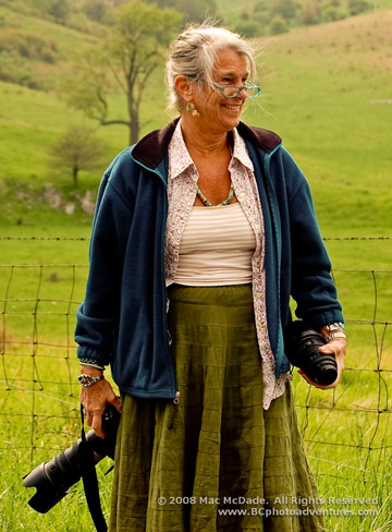 Photo of Margo Taussig Pinkerton by Mac McDade.