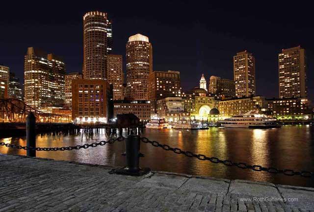 Boston Odessy night time