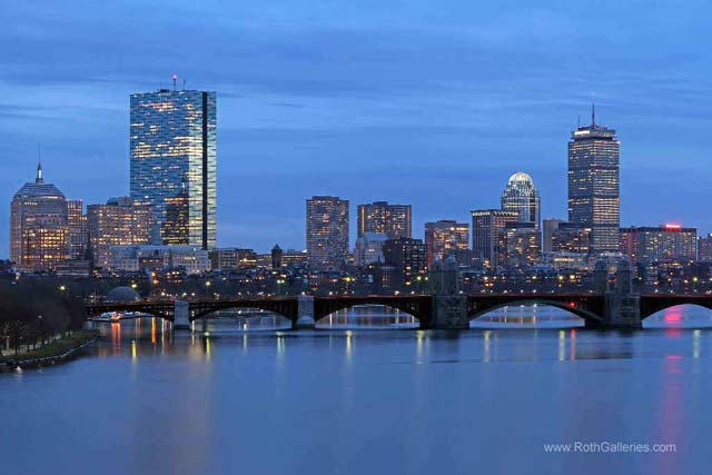 Good Night Boston - Early Minutes of Twilight