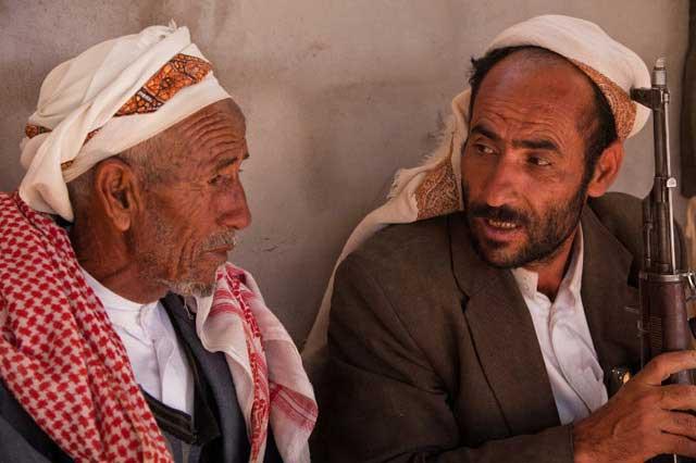 Two Armed Yemeni Tribesmen