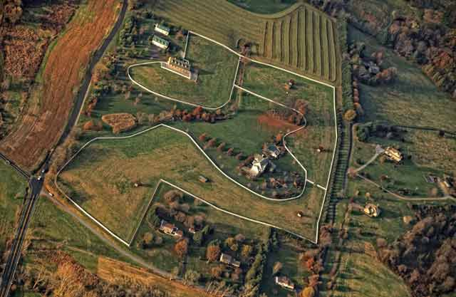 aerial photography tips - fields from above