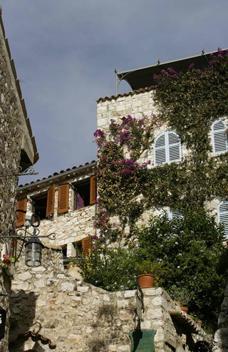 Photo of stone residence, Eze, France by Andy Long