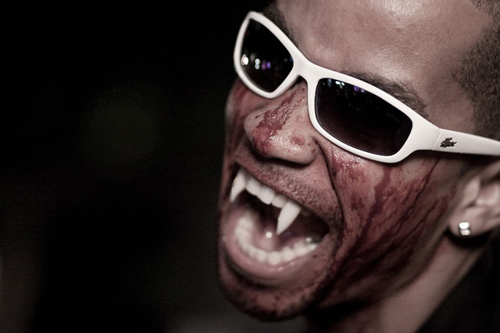 lPhoto of man as vampire for Halloween by Oliver Fluck