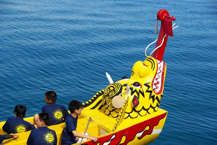 Photo of Dragonboat Races in Naha Okinawa, Japan by Michael Lynch