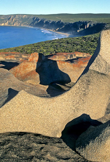 Photo of Remarkable Rocks at Flinders Chase National Park, Kangaroo Island in South Australia by Doris Kolber