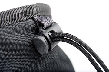 Photo showing mechanism for opening and closing a modular pouch by Think Tank Photo