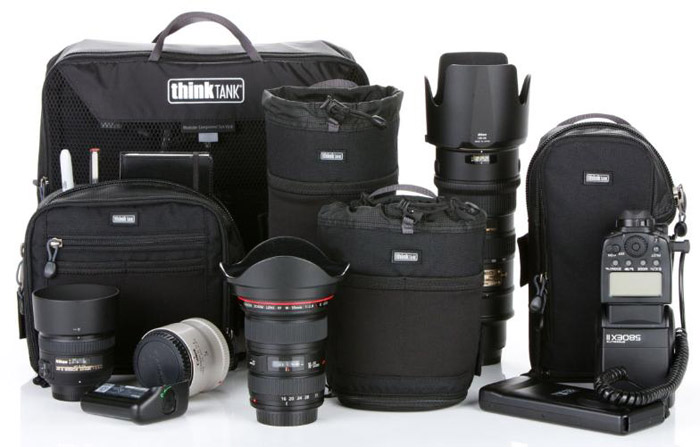 Photo of modular component pouches by Think Tank Photo