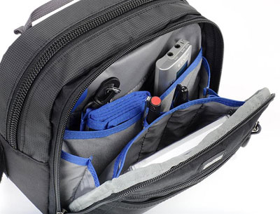 Photo of open Speed Changer V2.0 modular pouch by Think Tank Photo