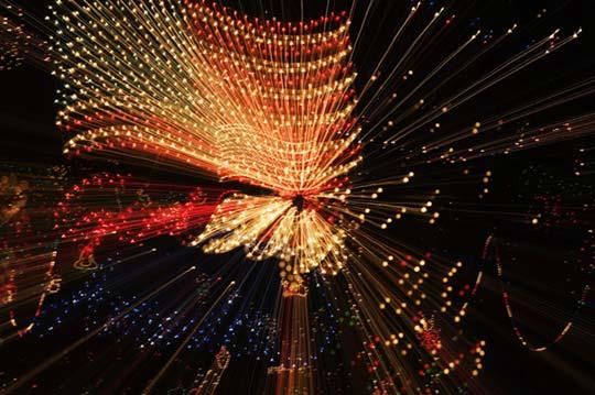 Photo of lights by Noella Ballenger