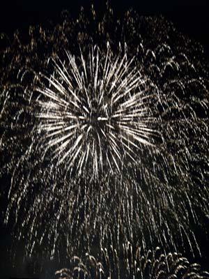 Photo of fireworks by Noella Ballenger