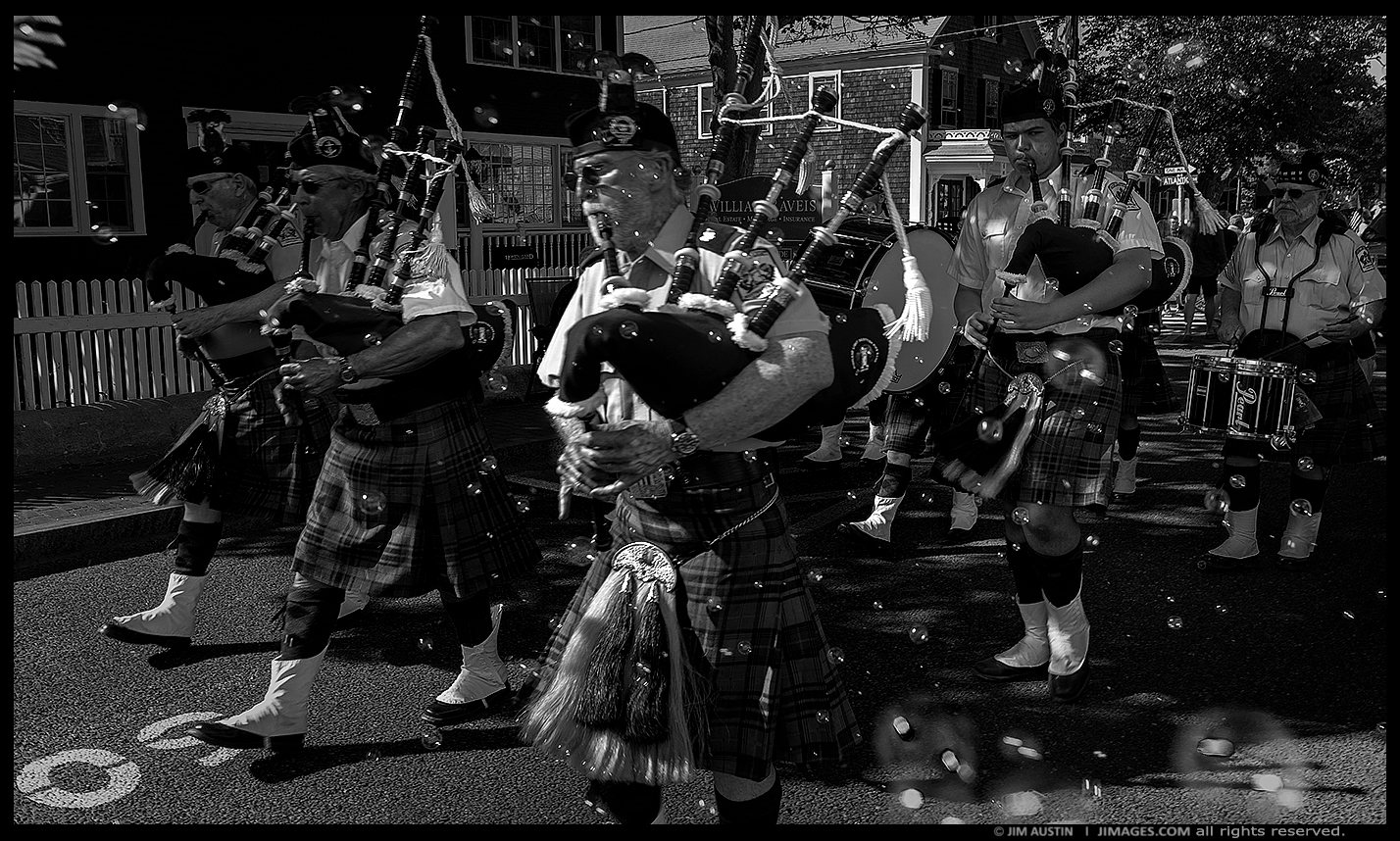 BUBBLES AND BAGPIPES""