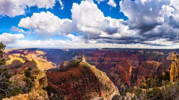 Imperial Thunderheads Rolling, Grand Canyon