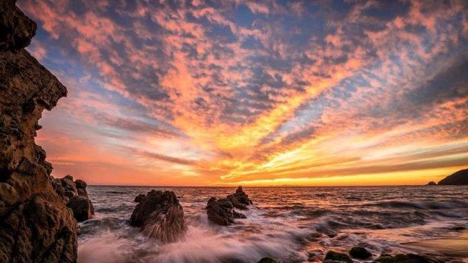 October Revelry Malibu Sunset
