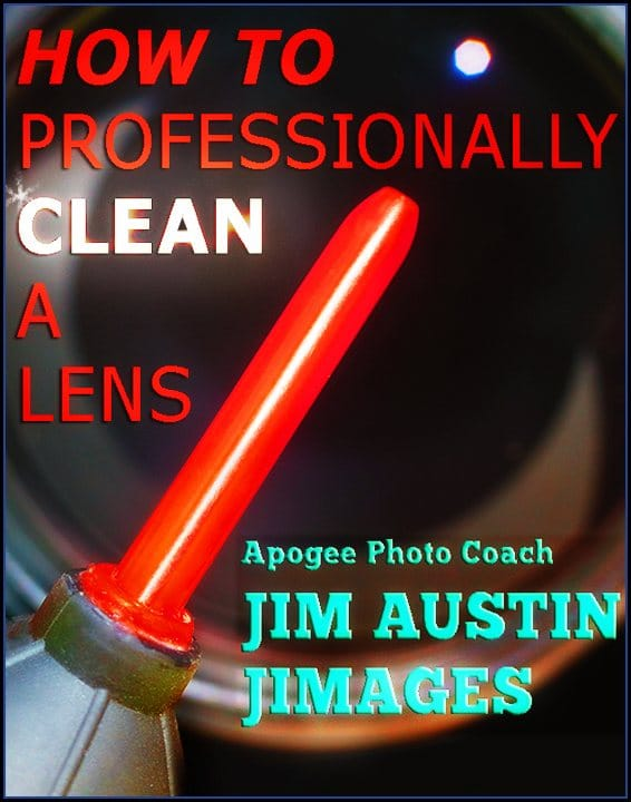 How To Professionally Clean A Camera Lens | Apogee Photo