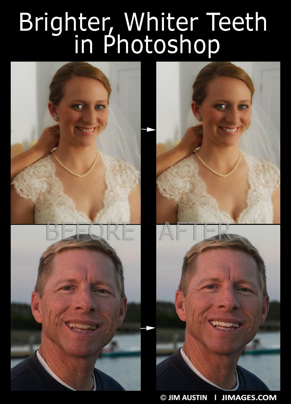 White Teeth in Photoshop