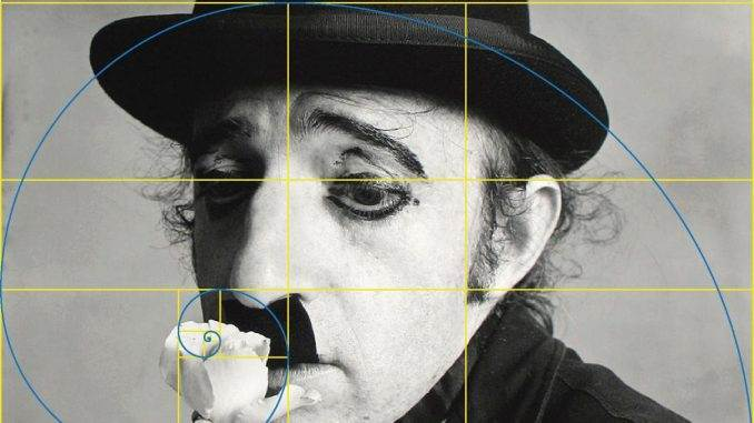Woody Allen as Charlie Chaplin - Irving Penn