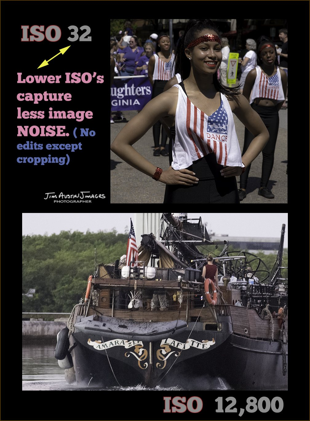 LOW ISO Less Noise Jim Austin Jimagesdotcom 1A