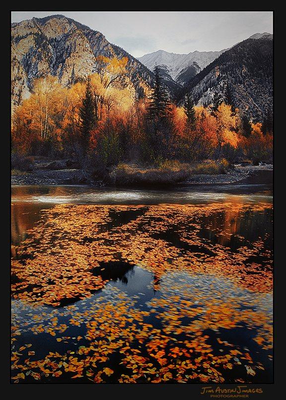 Fall Clark River Colorado Jim Austin Jimages