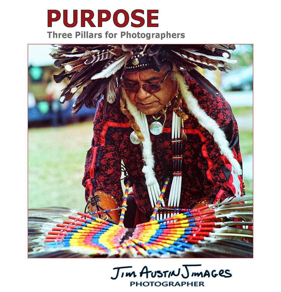 Making Headress Dancer Native Rhythms Bronica SQ Portra 160 Jim Austin Jimages