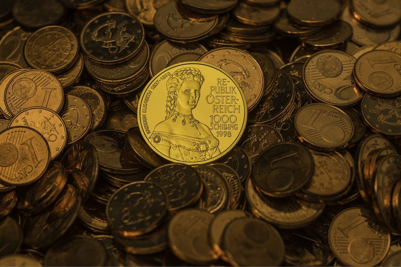 photographing coins