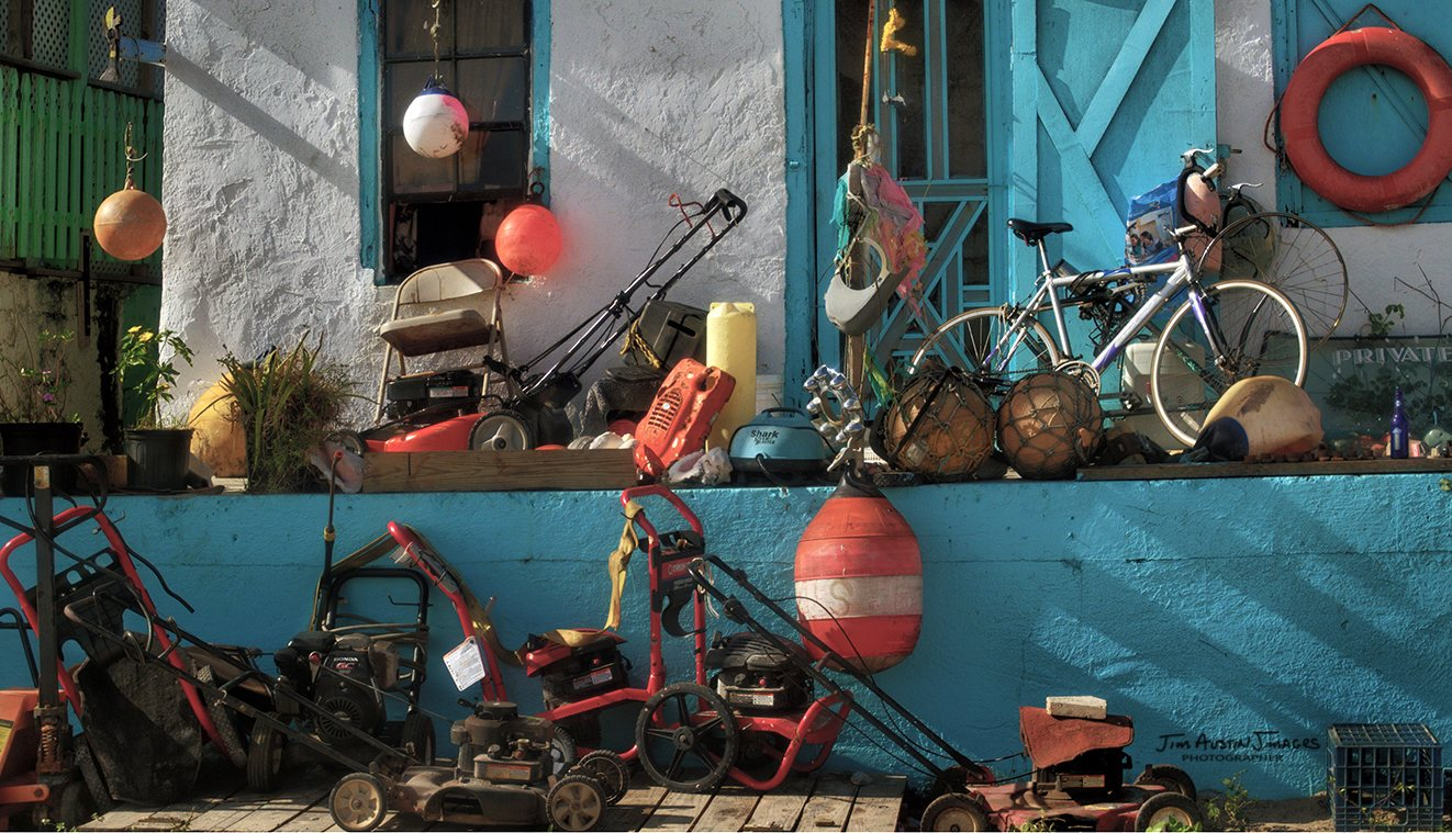 Cupid Cay Governors Harbor Repairmans House Before Stroke