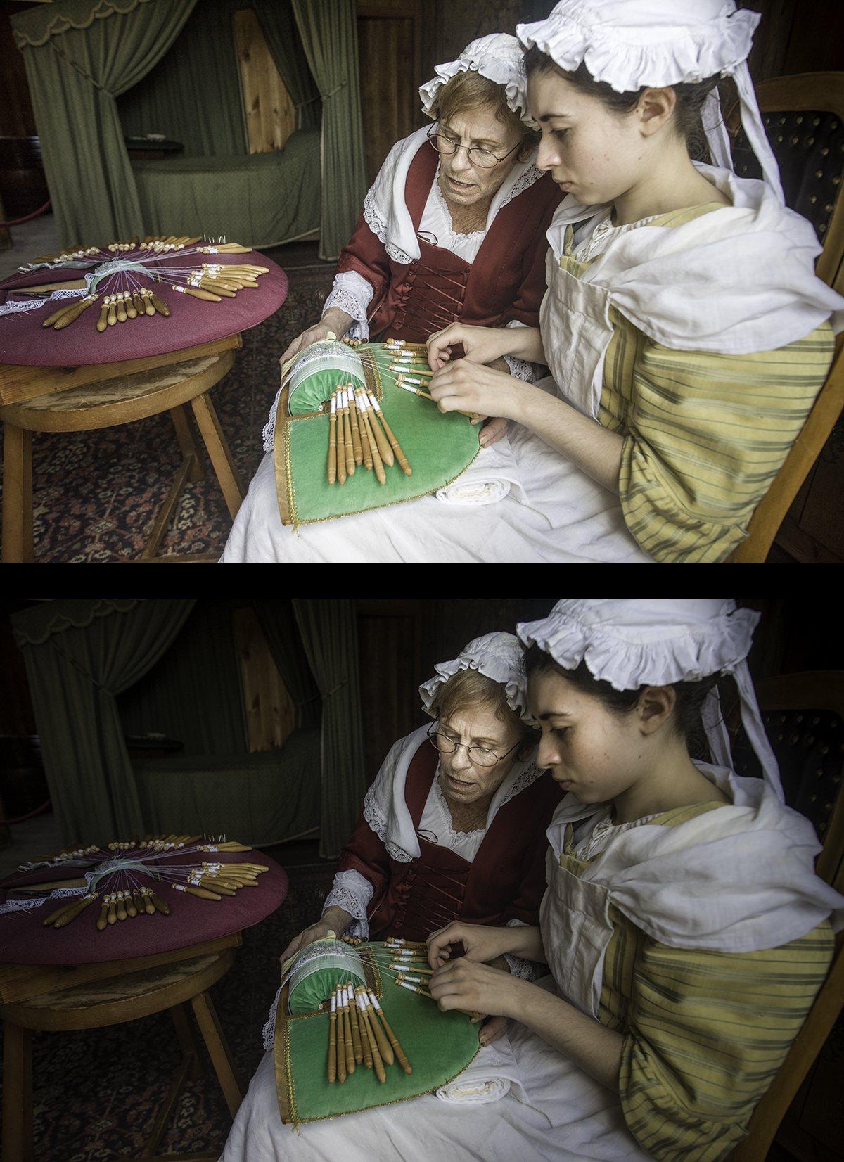 Fortress Louisbourg Women Lace Jimages Final