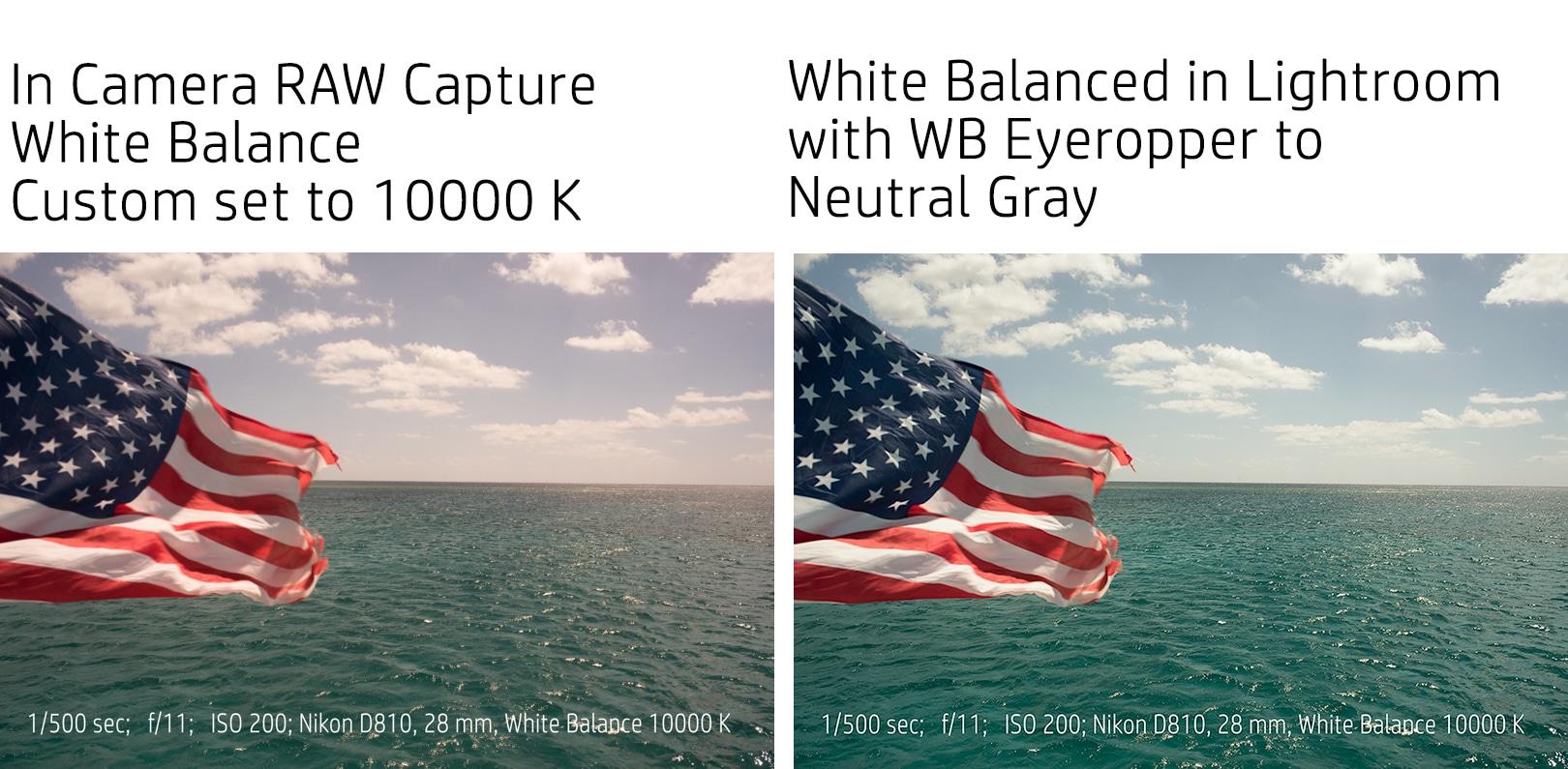 Flag_10000K_White_Balance and LR Edit Eyedropper