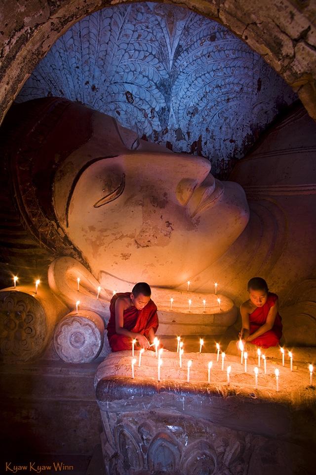 bagan buddha monk