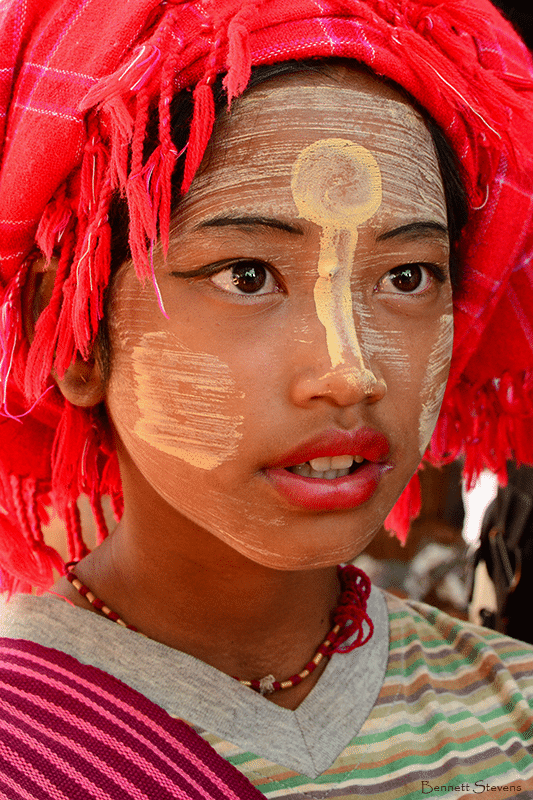 myanmar tribe girl
