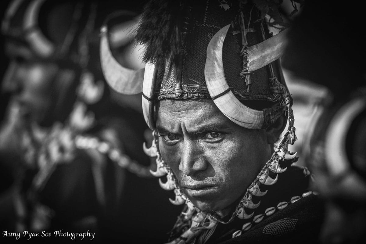 myanmar naga warrior