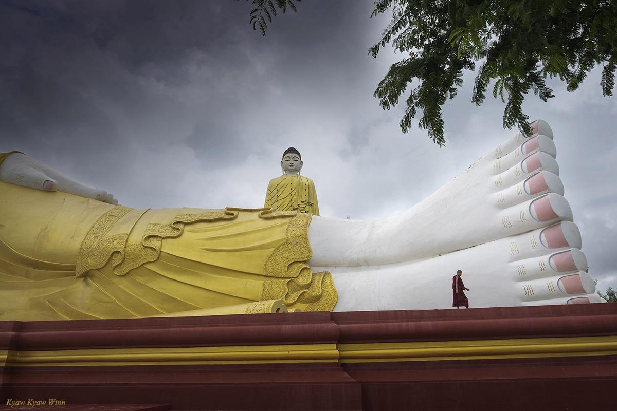 Monywa Myanmar Giant Buddha