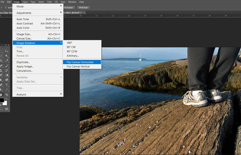 How To Flip An Image In Photoshop Apogee Photo Magazine