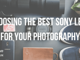 best sony e mount lens